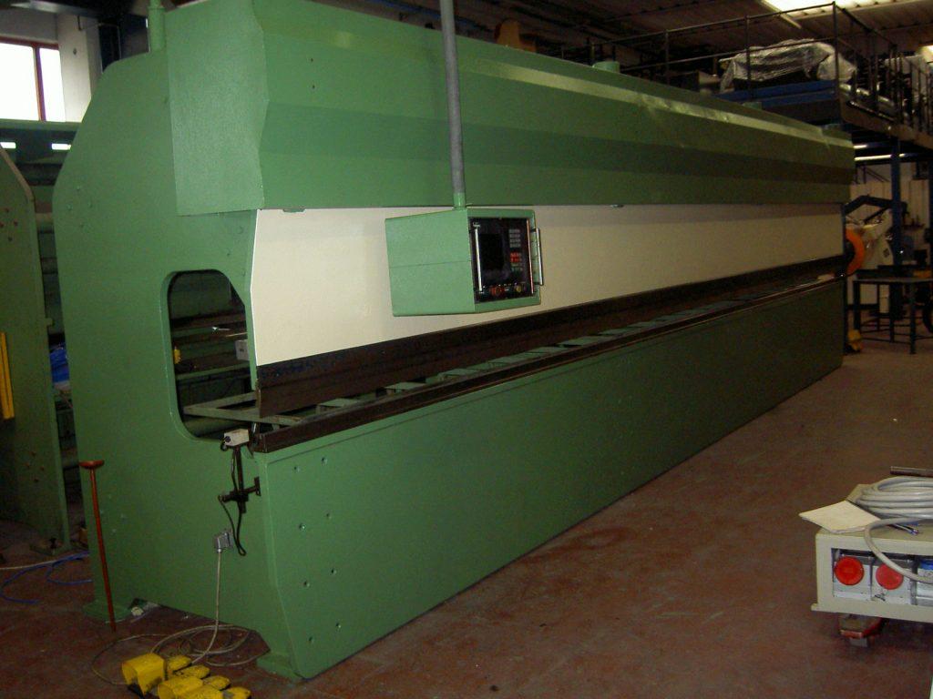 Pressa piegatrice 8500 mm Belgius